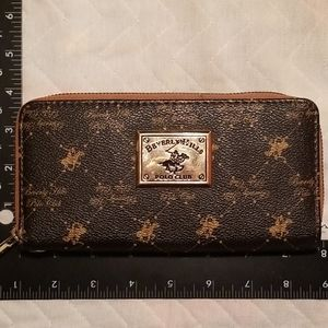 Beverly Hills Polo Club Long Wallet